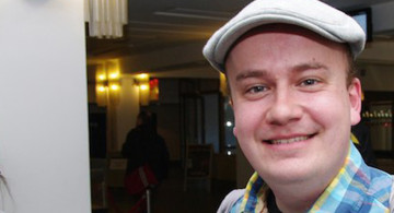 Daniel Fiene, Foto: Claudia Thomas, re:publica 2011 (flickr) CC-BY 2.0