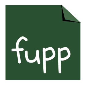 """ENTWURF: Logo für """"fupp-Magazin"""""""