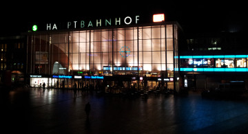 Köln Hauptbahnhof bei Nacht | Foto: Martin Krauß