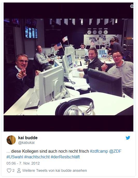 Screenshot: Tweet von @kabukai zur US-Wahl bei ZDF heute.de