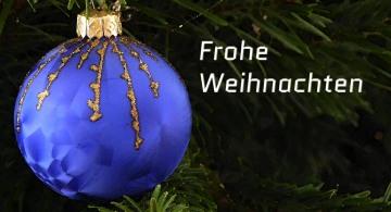 Weihnachtsgruß, Weihnachten, Tannenbaum, Christbaumkugel
