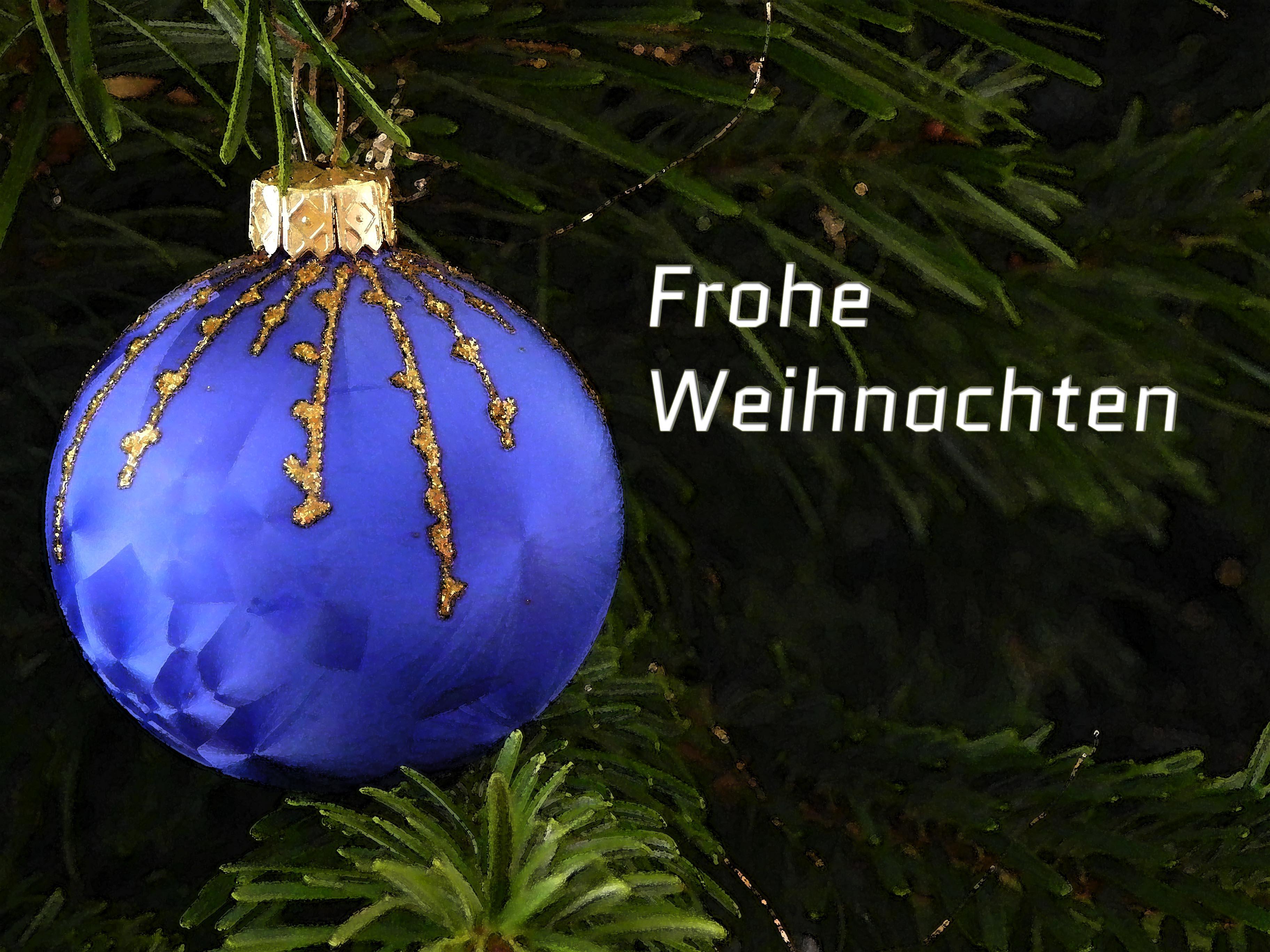 Weihnachtsgruß, Foto: Martin Krauß