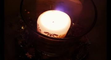 Kerzenschein im Dunklen | Foto: Martin Krauß
