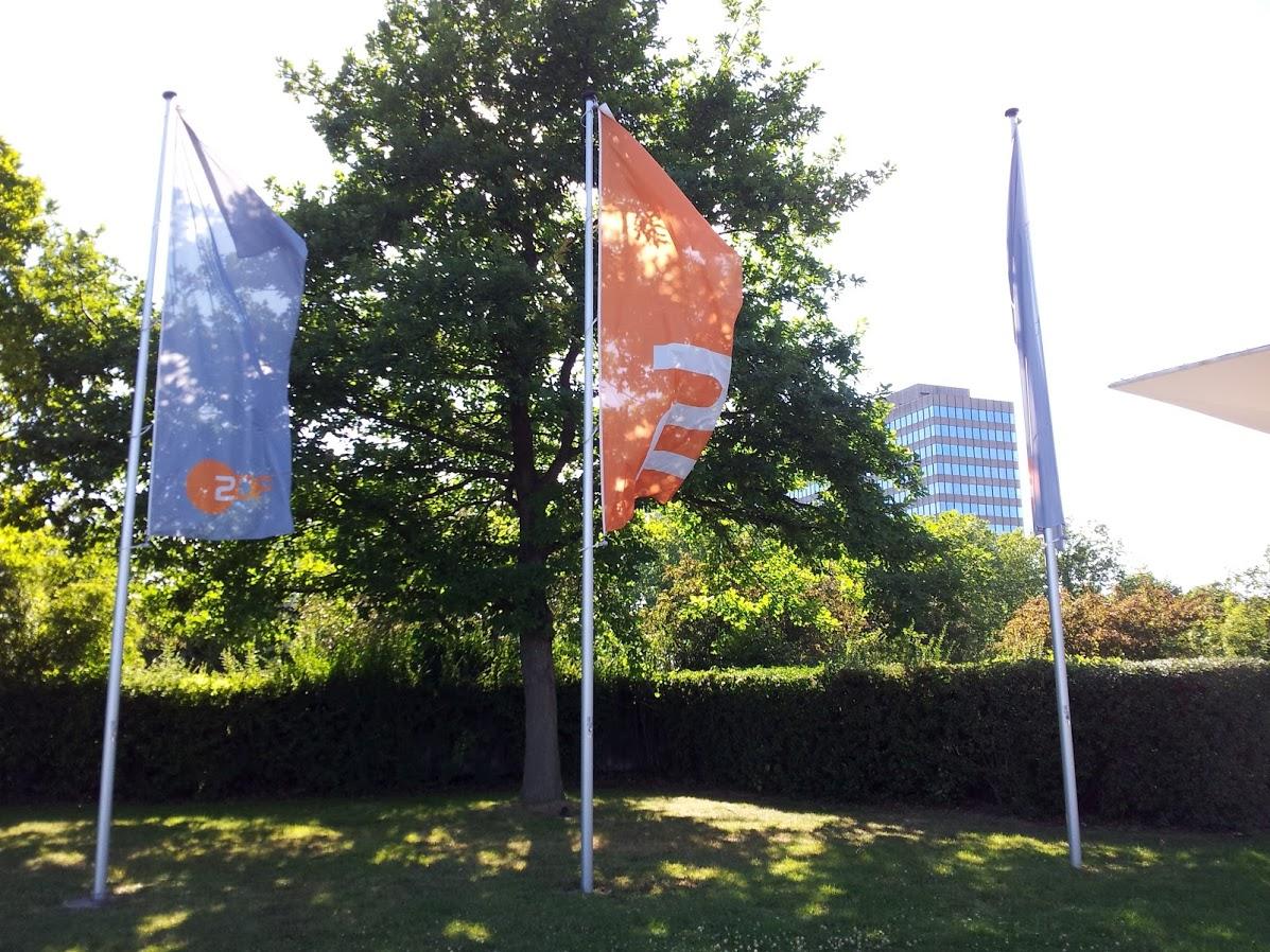 ZDF Sendezentrum auf dem Lerchenberg in Mainz