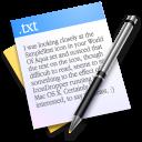 Texticon für Schreibprogramme