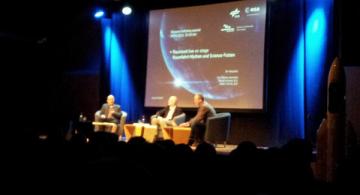 Raumzeit Live on Stage in der Darmstädter Centralstation