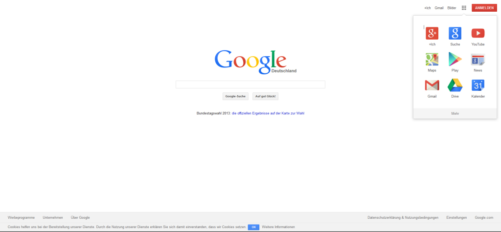 Google Design neu