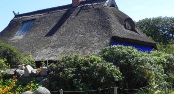 Die blaue Scheune auf Hiddensee