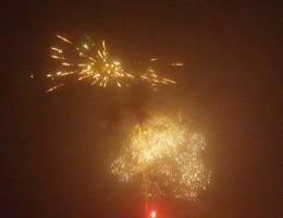 Feuerwerk am 01.01.2016