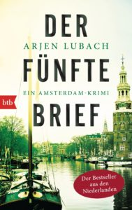 Der fünfte Brief von Arjen Lubach   Cover: btb Verlag