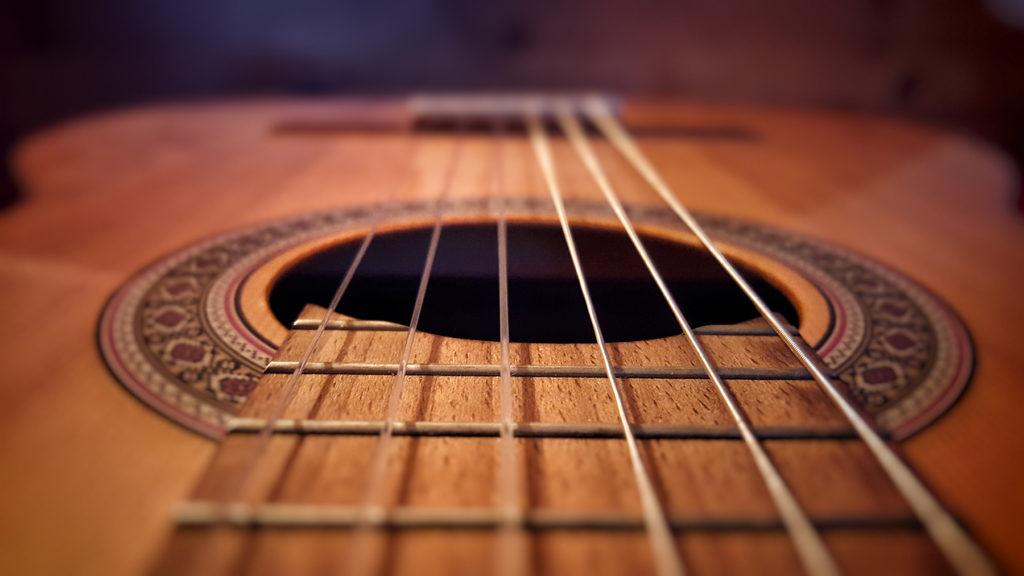Die magischen Saiten der Gitarre