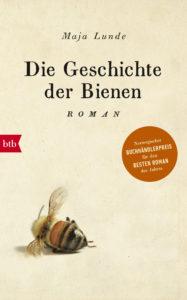 Die Geschichte der Bienen von Maja Lunde, Cover: btb Verlag