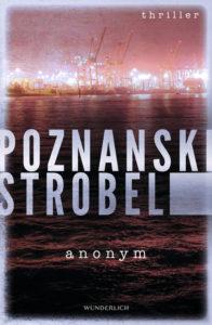 """anonym"" von Ursula Poznanski und Arno Strobel, Cover: Wunderlich Verlag"