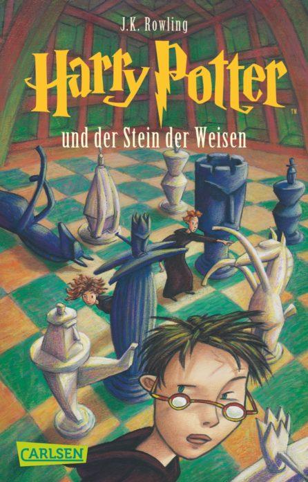 Harry Potter und der Stein der Weisen, Cover: Carlsen Verlag